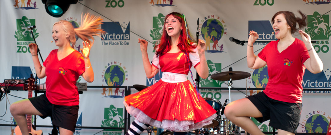 kids fun parties paid entertainment music presenters hey dee ho parties for kids in melbourne